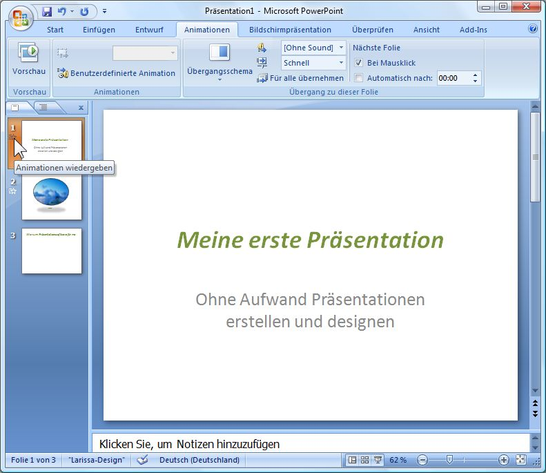Powerpoint Pdf Animationen Erstellen