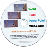 studium und pc flott studieren mit pc word excel powerpoint. Black Bedroom Furniture Sets. Home Design Ideas