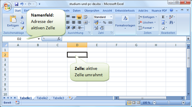 schnell in Excel-Tabellenblatt bewegen - gewusst wie!